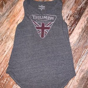 Lucky Brand Triumph Motorcycles Tank Size Small